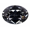 Swarovski Stones 4120 Oval 18x13mm Silver Night Crystal 6Pcs